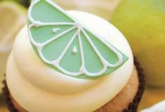Feijoa Cupcake with vodka lime filling by Tamara Jane of TEMPT