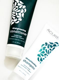 Acure Organics launches a straightening shampoo & conditioner. Via @cindysmithbokma