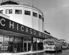 Chicago Midway Airport , 1970s.