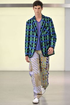 Way to get the girls' attention! Issey Miyake S2011 Men