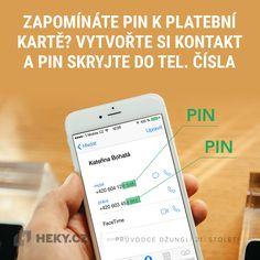 Zapomínáte PIN k platební kartě? Vytvořte si kontakt a PIN skryjte do telefonního čísla Galaxy Phone, Samsung Galaxy