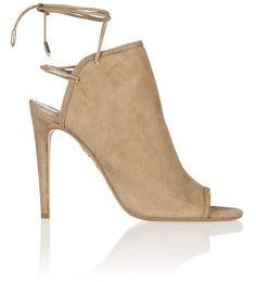 Aquazzura Mayfair suede sandals