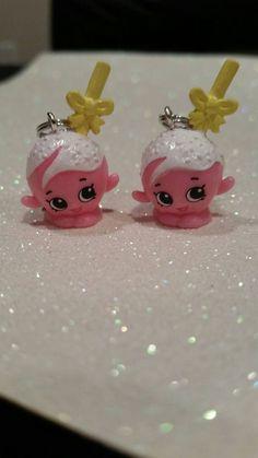 Shopkins Earrings cake pop