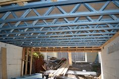 #dynamicsteelframe #lightsteelframe #steelframe #steel #truecore #lighterstraighterbetter #fabrication #fabrications #architecture #australia #prefab #williamstown Storey Homes, Rooftop Terrace, First Home, Prefab, Steel Frame, Pergola, Outdoor Structures, Australia, Architecture