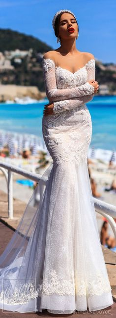 Wedding Dress by Katherine Joyce - Ma Cheri Bridal Collection #weddingdress