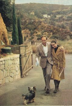 Audrey, Mel and Famous in California.