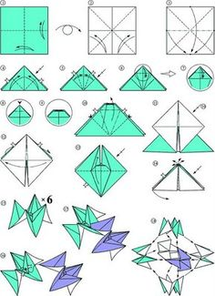 Origami for Everyone – From Beginner to Advanced – DIY Fan Origami Modular, Origami 101, Origami Cube, Origami And Kirigami, Useful Origami, Origami Stars, Paper Folding Art, Diy Paper, Origami Instructions