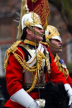 Horse Guard, Hyde Park, London: British Army, British Royals, Queens Guard, British Uniforms, Men In Uniform, British History, British Style, Armed Forces, Great Britain