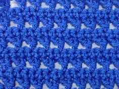 crochet stitch - side bar