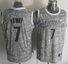 Men s Toronto Raptors Jersey 7 Kyle Lowry 2015 City Lights Black Swingman  Jerseys 3ffbe7477
