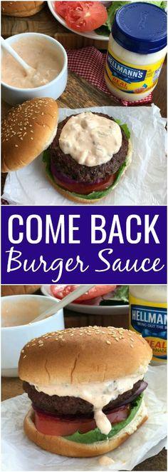 Come Back Burger Sauce