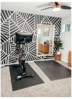 Home Gym Basement, Home Gym Garage, Diy Home Gym, Gym Room At Home, Home Gym Decor, Best Home Gym Setup, Basement Workout Room, Dream Home Gym, Workout Room Home