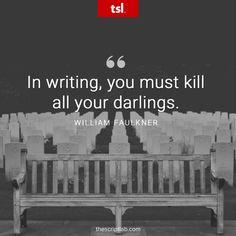 Quotable – William Faulkner - Writers Write