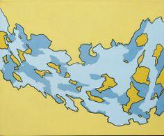 David Camargo, Desfragmentado, 2013, acrílico sobre tela, 100 x 120 cm.