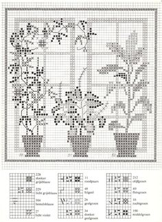 Gallery.ru / Фото #43 - Cross Stitch Pattern in Color - Mosca
