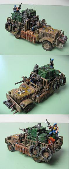 Necromunda--Guild Convoy Truck