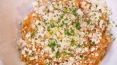 Los hermanos Torres nos enseñarán a hacer un suculento arroz meloso de bacalao y con un caviar de coliflor. Consumimos...