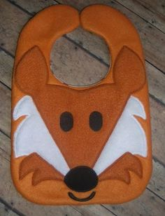 FOX BIB  Can not find the page but I can use as a pattern
