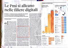 """""""Le PMI si alleano nelle filiere digitali"""" - Nòva-Sole24Ore, di Gianpaolo Colletti  - 17 novembre 2013"""