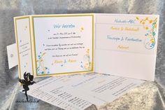 Pocket Wedding invitation, Pocketinvitation  #invitation #papeterie #stationary #feenstaub Hochzeitspapeterie hochzeitseinladung Pocketeinladung