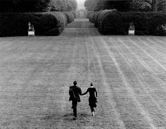 Photo by Rodney Smith. Amor Romance, Lets Run Away Together, Rodney Smith, Couple Running, Celebrity Magazines, Mont Saint Michel, Running Away, Happy Weekend, Couple Photography