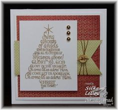 Our Daily Bread Designs Stamp set: Sing Choirs of Angels, Our Daily Bread Designs Paper Collections: Christmas 2015, Winter 2014