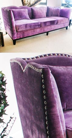 .where can one find a sofa-couch such as this and in purple! Gerry
