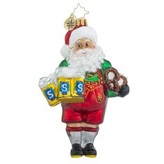 "Christopher Radko Ornament - ""Biergarten Claus"""