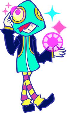 Leon from Pop'n music 20 Fantasia.