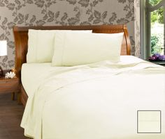 50/50 cotton polyester 225 Thread Count  Fitted with 38 cm wall