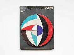 Graphis Annual '64/65International Advertising Art,  1964  Cover Designer Giulio Confalonieri (1926–2008)
