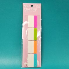 Large label tabs are repositionable - great for labeling all kinds of things in your craft room or office.
