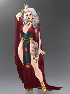Indra the sorceress by Akira-Raikou on DeviantArt Character Poses, Female Character Design, Character Design Inspiration, Character Drawing, Character Concept, Character Ideas, Dnd Characters, Fantasy Characters, Female Characters