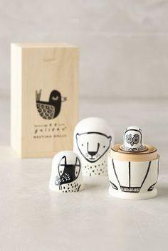 Nesting Critter Dolls - anthropologie.com