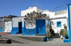 Puerto de las Nieves Top Cars, Canario, Landscape, Scenery, Corner Landscaping