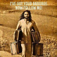 Christ...lifting all burdens.