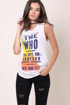 900dc2fb3f Junkfood The Who Tank from Mixology Sweatshirt Dress