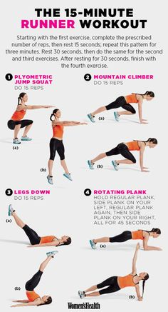 Lots of different workouts