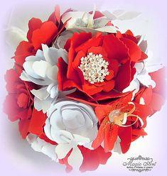 MagicArt / Včera bola nevestou, dnes je ženou... Paper Flowers, Floral Wreath, Bouquet, Wreaths, Home Decor, Homemade Home Decor, Door Wreaths, Bouquets, Deco Mesh Wreaths