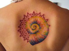 espiral de fibonacci tattoo aquarela - Pesquisa Google