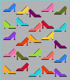 Sew Fresh Quilts: High Heel Shoe quilt block tutorial