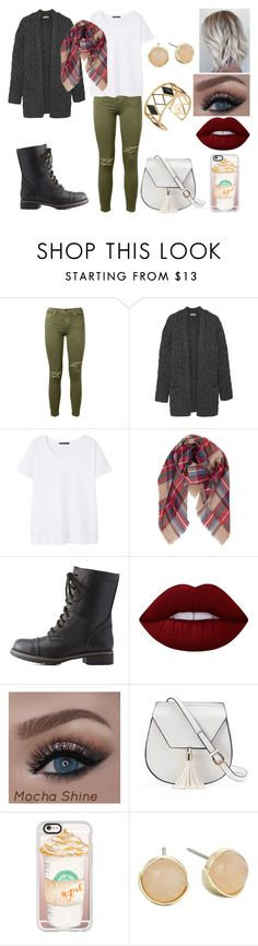 """Untitled #223"" by kora-muffin on Polyvore featuring Current/Elliott, Michael Kors, Violeta by Mango, Humble Chic, Charlotte Russe, Lime Crime, Yoki, Casetify, Cole Haan and Rebecca Minkoff"
