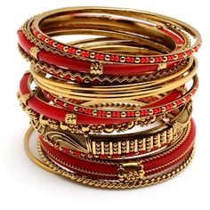 Amrita Singh Adreena Bangle Set ..pinkmascara