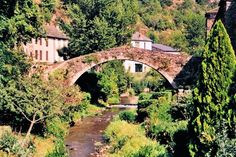 A pont-romain in Brousse-Le-Chateau