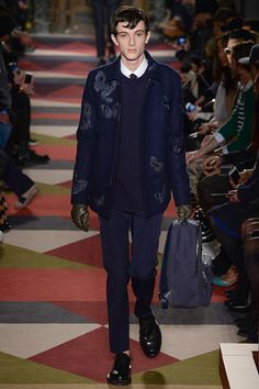 Valentino Fall 2015 Menswear - Collection - Gallery - Style.com coat