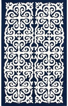 Another navy rug