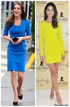 Demure Allure: Bright Colored Dresses