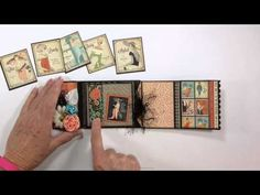 ▶ Graphic 45 Couture Wallet Style Mini Album - YouTube