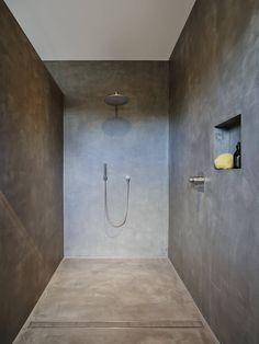 Terreno designspachtel als fugenlose dusche ausgef hrt for Minimalismus hausbau