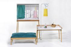 "Winner of the Kids Design Award 2015: Annika Marie Buchberger's design draft furniture series ""full-grown"""